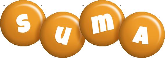Suma candy-orange logo