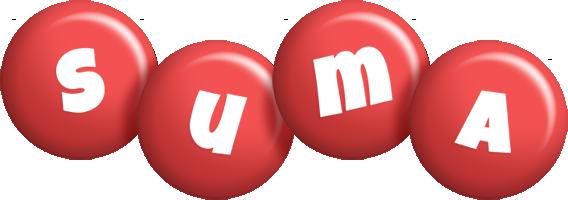 Suma candy-red logo