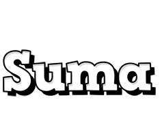 Suma snowing logo