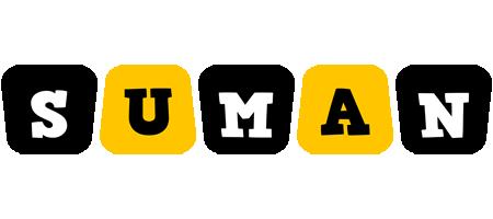 Suman boots logo
