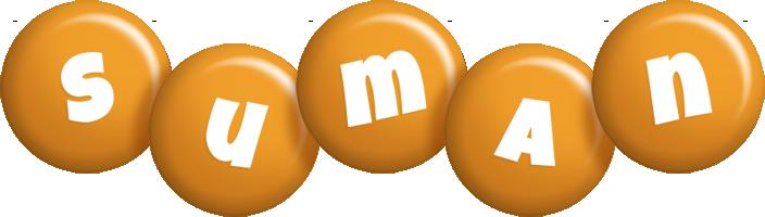 Suman candy-orange logo