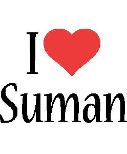 Suman i-love logo