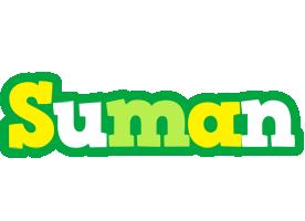 Suman soccer logo