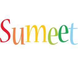 Sumeet birthday logo