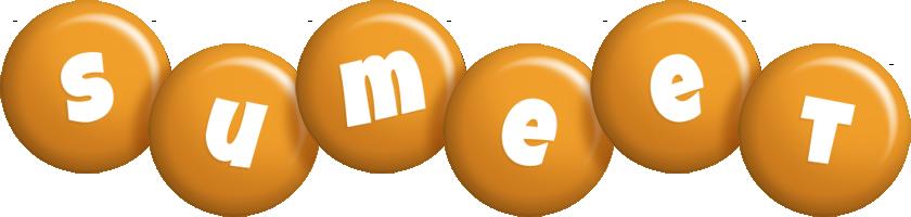 Sumeet candy-orange logo