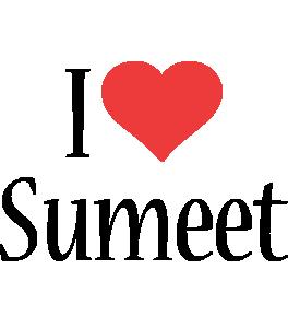 Sumeet i-love logo