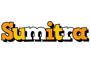 Sumitra cartoon logo