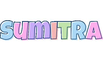 Sumitra pastel logo