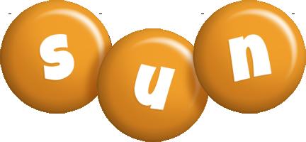 Sun candy-orange logo