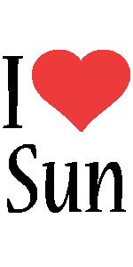 Sun i-love logo