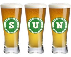 Sun lager logo