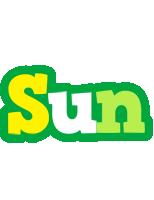 Sun soccer logo