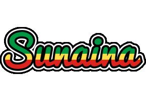 Sunaina african logo