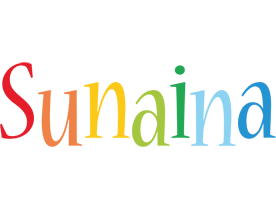 Sunaina birthday logo