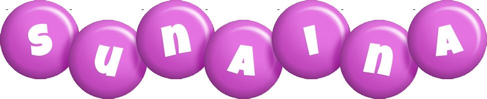 Sunaina candy-purple logo