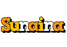 Sunaina cartoon logo