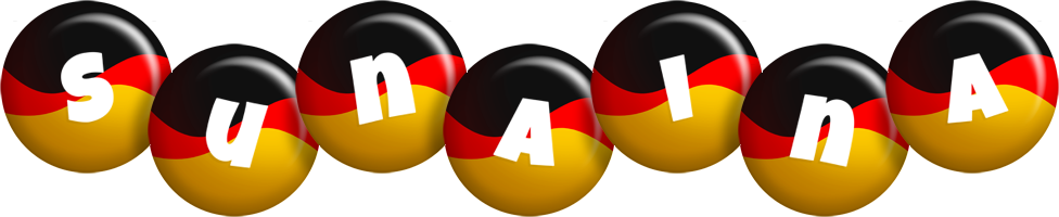 Sunaina german logo