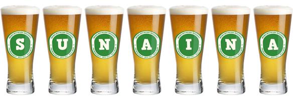 Sunaina lager logo