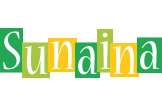 Sunaina lemonade logo