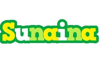 Sunaina soccer logo