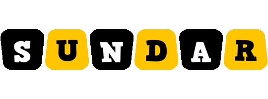 Sundar boots logo