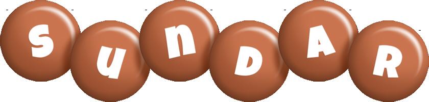 Sundar candy-brown logo