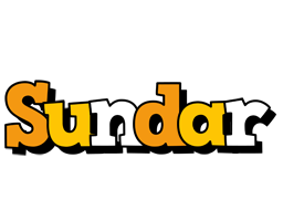 Sundar cartoon logo