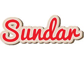 Sundar chocolate logo