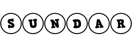 Sundar handy logo