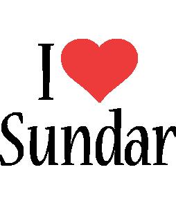 Sundar i-love logo