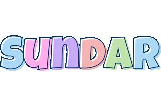 Sundar pastel logo