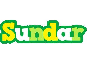 Sundar soccer logo