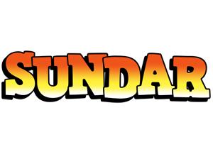 Sundar sunset logo