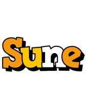 Sune cartoon logo