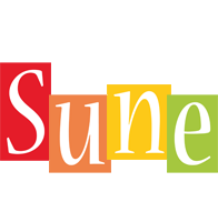 Sune colors logo