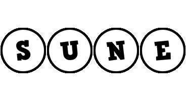 Sune handy logo