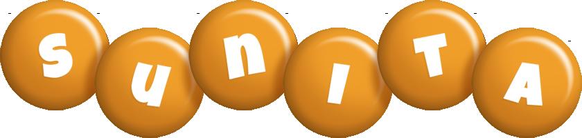 Sunita candy-orange logo