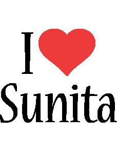 Sunita i-love logo
