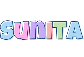 Sunita pastel logo
