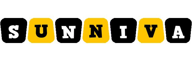 Sunniva boots logo