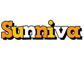 Sunniva cartoon logo