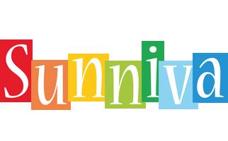 Sunniva colors logo