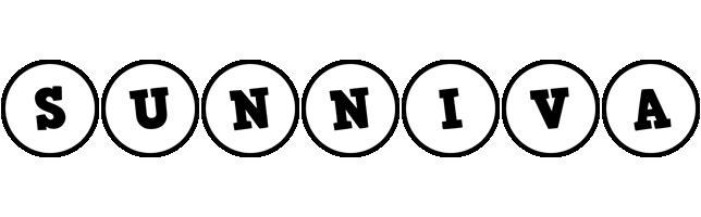Sunniva handy logo