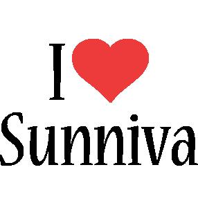 Sunniva i-love logo