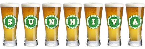Sunniva lager logo