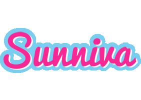 Sunniva popstar logo