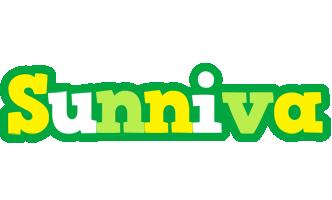 Sunniva soccer logo