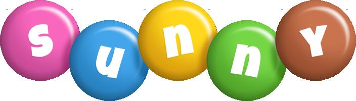Sunny candy logo