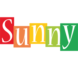 Sunny colors logo