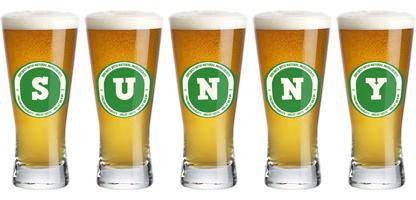 Sunny lager logo